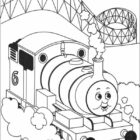 Thomas the Tank Engine Coloring Pages (11)