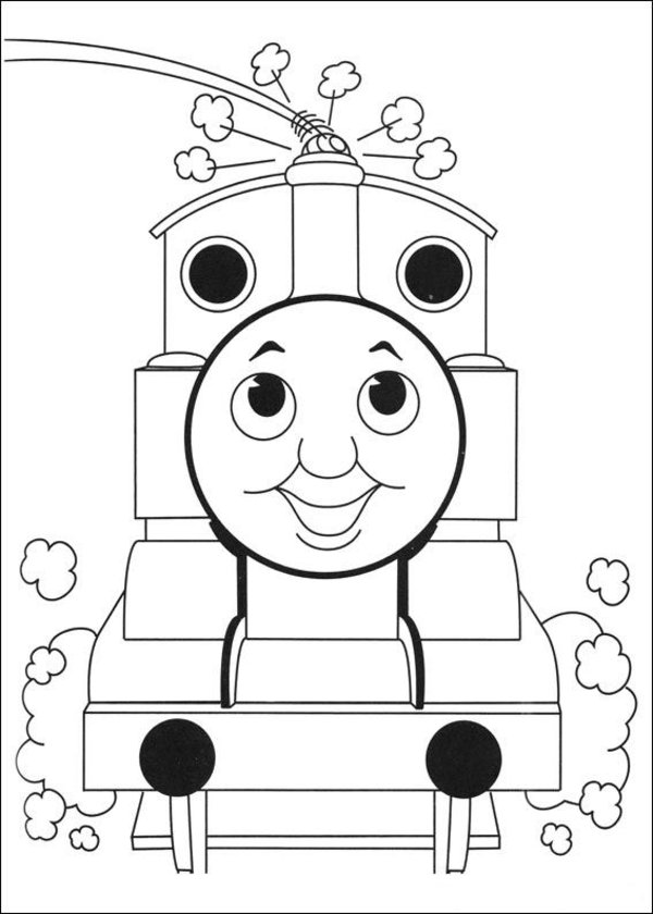 Thomas the Tank Engine Coloring Pages (13)