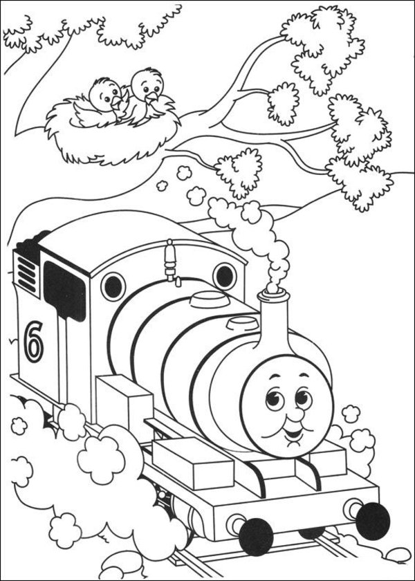 Thomas the Tank Engine Coloring Pages (16)