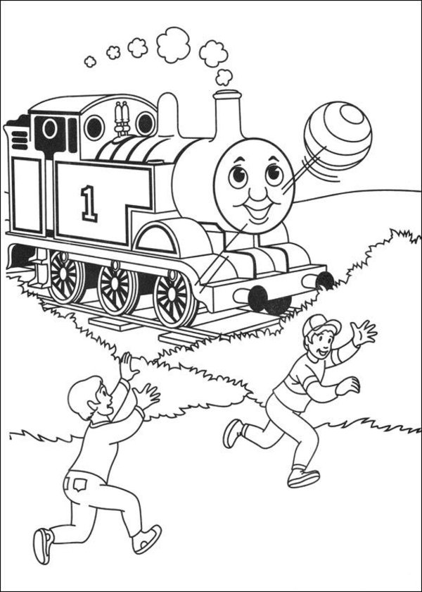 Thomas the Tank Engine Coloring Pages (17)