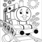 Thomas the Tank Engine Coloring Pages (2)