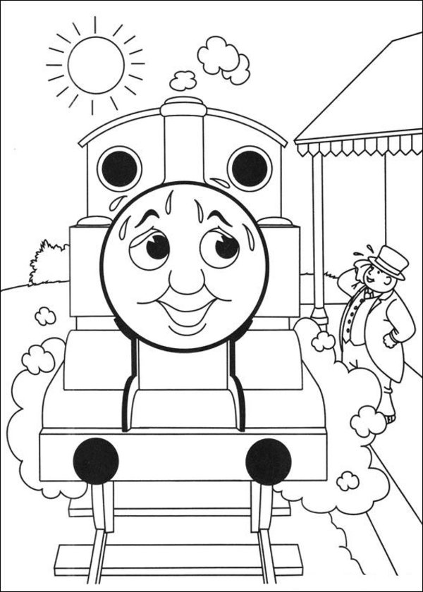 Thomas the Tank Engine Coloring Pages (7)