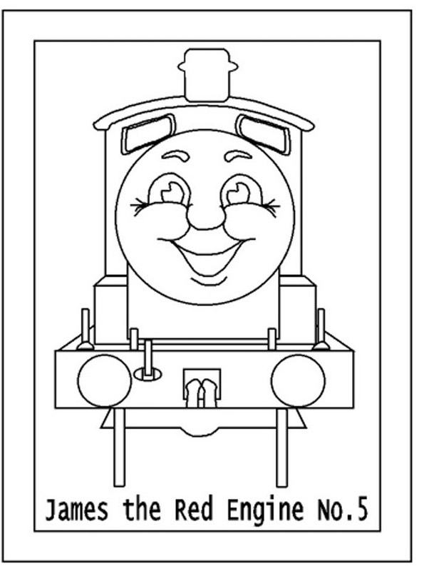 Thomas the Tank Engine Coloring Pages (8)