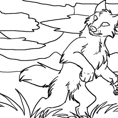 warewolves-coloring-pages