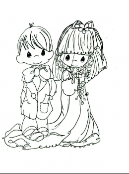 Wedding Coloring Pages (15)