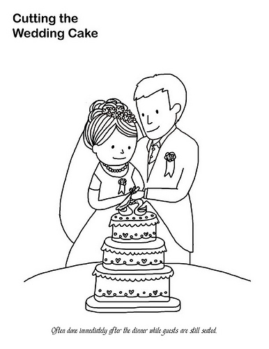 Wedding Coloring Pages (3)
